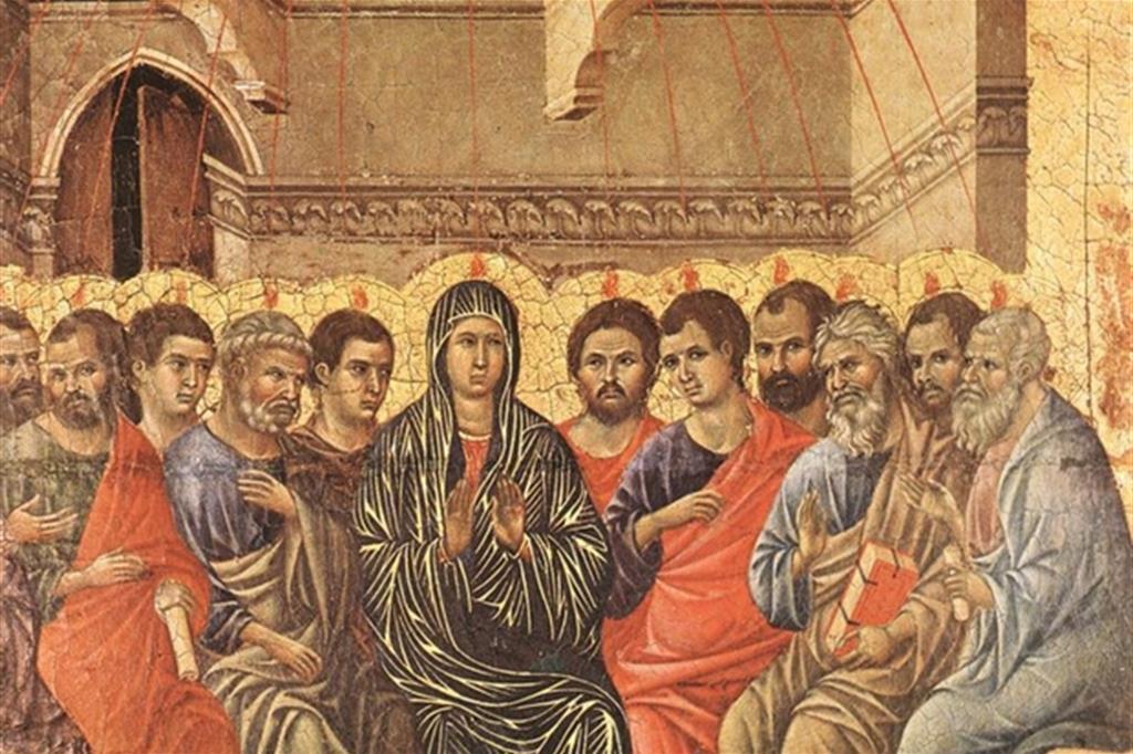 """Duccio di Buoninsegna, """"La Pentecoste"""""""